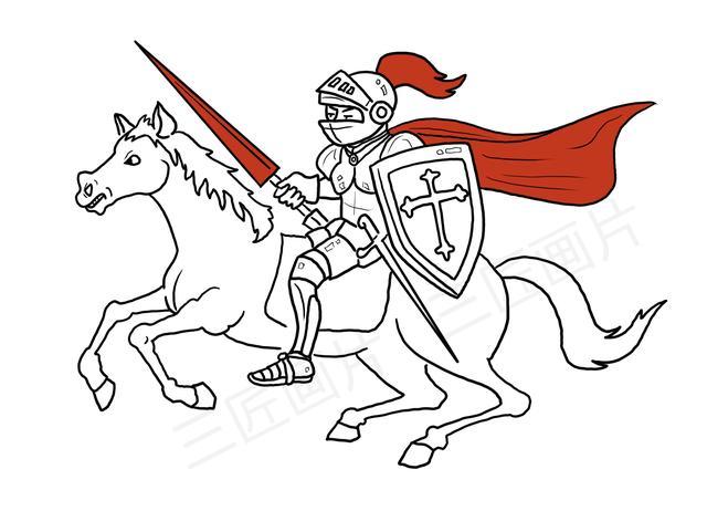 騎士的誕生與發展,中世紀封建制度催生和教會的矯正