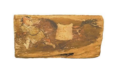 武威西夏文物中馬的身影
