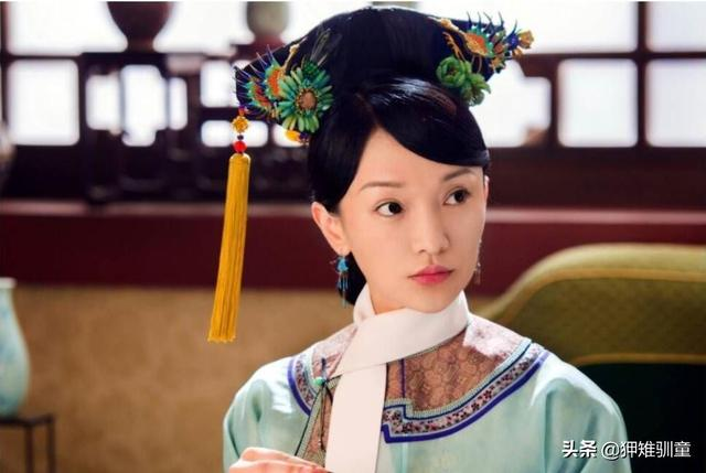 清朝妃子脖子上系的白布條,僅僅是因為御寒嗎?還有其他作用嗎?
